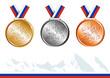 Médailles Jeux de Sotchi - 60054564