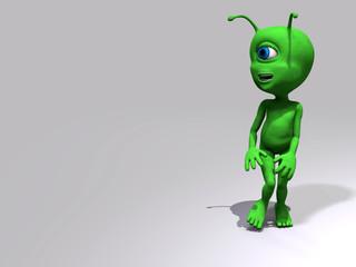Alieno - di passaggio
