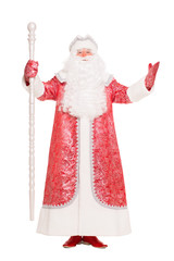 Man in Santa Claus suit