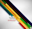 Geometric shape straight stripes background