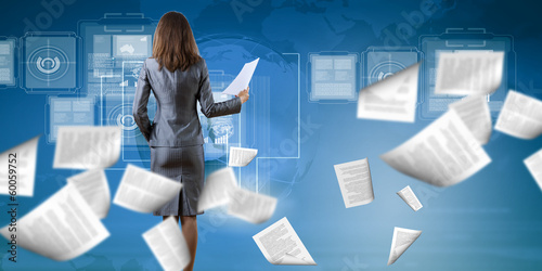 Woman secretary - 60059752