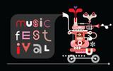Music Festival banner poster