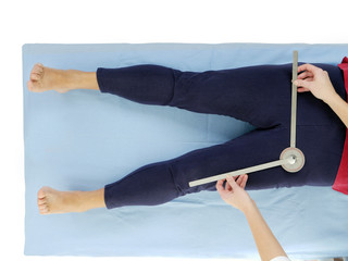 Measurement of hip joint abduction
