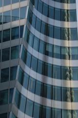 Modern glass skyscraper architecture