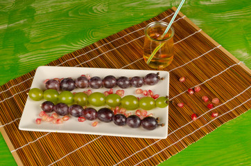 Grape dessert for kids