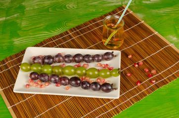 Grape dessert for kids