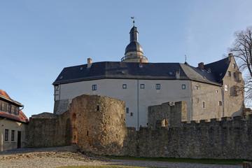 Innenhof Burg Falkenstein