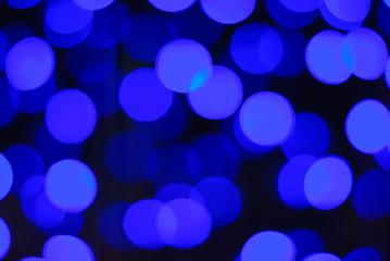 beautiful of blue light