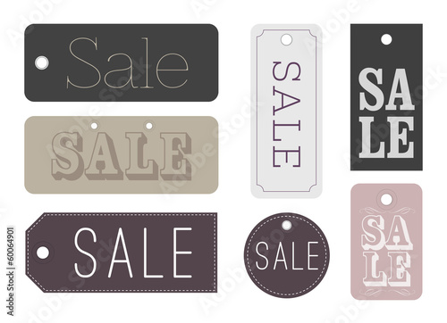 Chic Sale labels