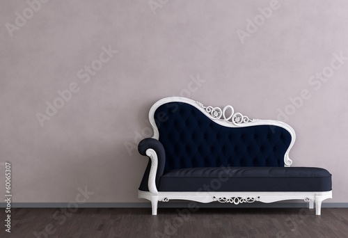 canvas print picture Altes Sofa