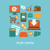 Online banking and business