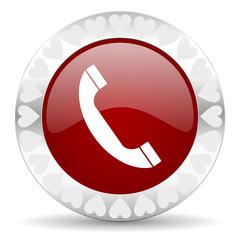 phone valentines day icon