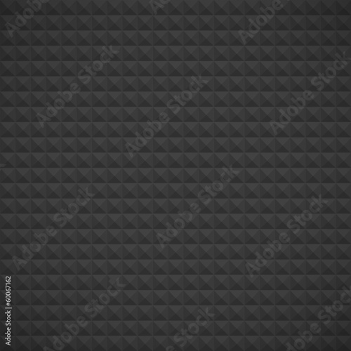 Modern dark background consisting of triangles, seamless pattern