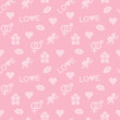 abstract seamless pattern for Valentines Day
