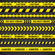Set of caution tapes. - 60067704