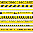 Set of caution tapes. - 60067761