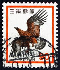 Postage stamp Japan 1971 Golden Eagle, Bird