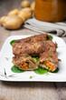 Rouladen aus Sojafleisch