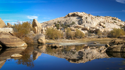 Barker Dam in Joshua Tree