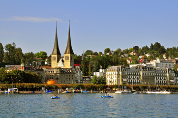 Luzern cityscape, Switzerland