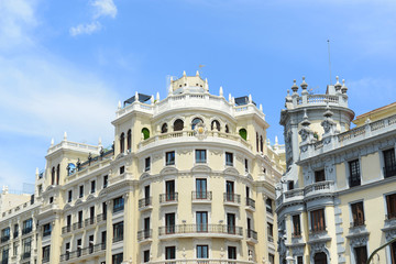Hotel ADA Palace, a famous Beaux-Arts landmark of Madrid