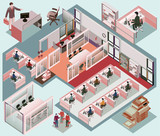 office isometric