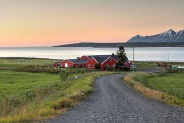 Nordic farmhouse, Iceland