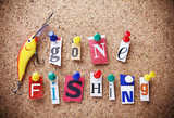 Message gonne fishing