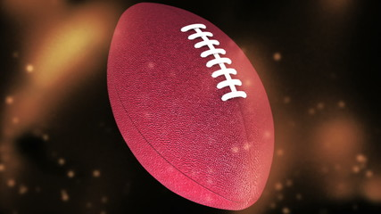 HD Football seamless looping Animated backdrop
