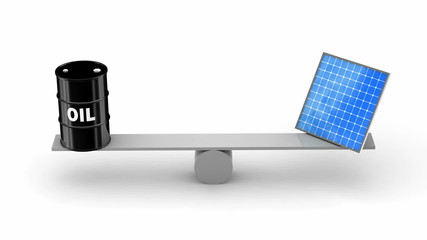 Oil vs Solar Panels