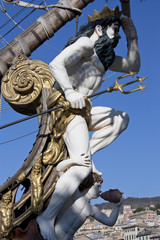 figurehead of the Galleon