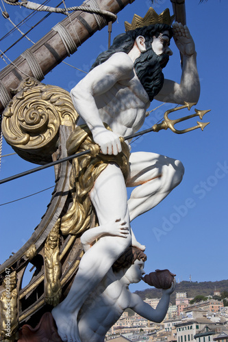 figurehead of the Galleon