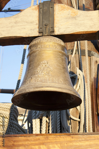 bell on a galleon