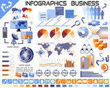 Infographics Business Icons EPS10