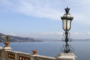 Trieste coastal view - Miramare Castle