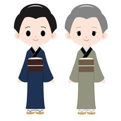 江戸町人 母親と祖母