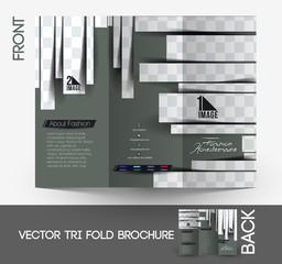 Beauty Care & Salon Tri-Fold Brochure Design.
