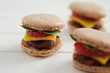 Süsse Macaron Burger