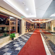 hall of modern hotel