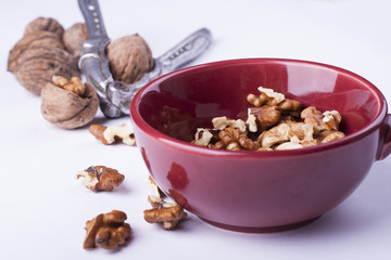 shelled wallnuts