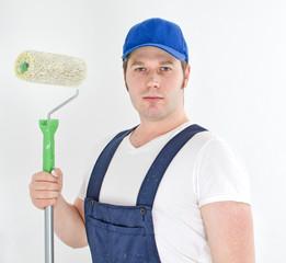 Painter in uniform
