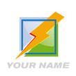Vector logo solar energy