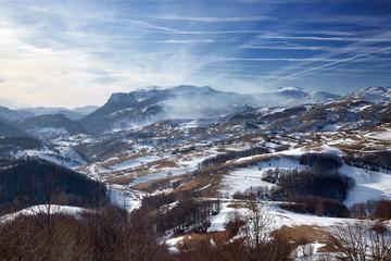 Bjelasnica, mountain near Sarajevo, Bosnia and Herzegovina