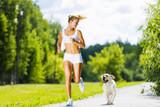 Fototapety Sport girl