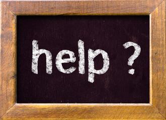 Help ? on blackboard