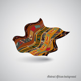 Abstract African backdrop