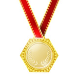 Medal for the winner - vector