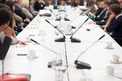 Leinwandbild Motiv business meeting room
