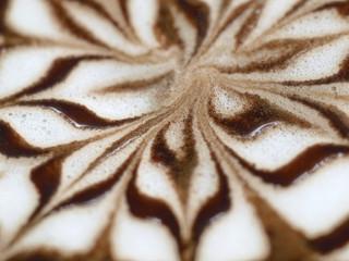 Coffee like a flower