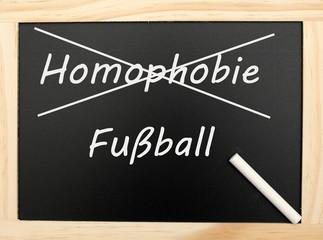 Homophobie & Fußball